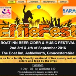 EffieFest Web Design